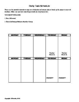 Team Task Management Responsibility Form