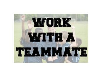 Team Theme Small Groups