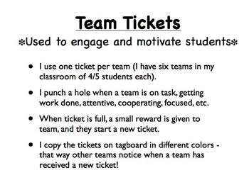 Team Ticket