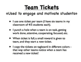 Team Ticket