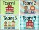 Team Tub Lables