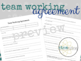Team Working Agreement (Group Contracts for Projects)
