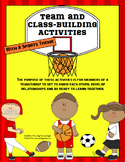 Team Building and Class Building Activities for Back to School- Sports Theme