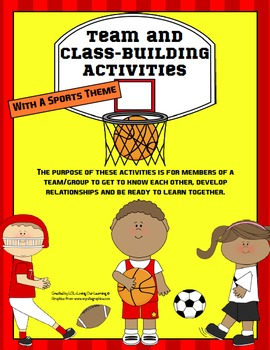 Team Building and Class Building Activities for Back to Sc