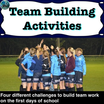 Team building activities for the first days of school
