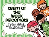 Team of the Week Placemats