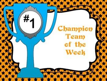 Team of the Week Posters