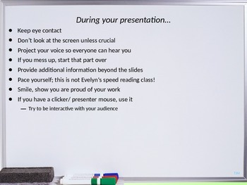 Qualities of a Good Presentation (based on the TeamLead Curriculum)