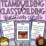Teambuilding & Classbuilding Question Cards (Brain Breaks)