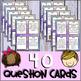 Teambuilding & Classbuilding Question Cards (Brain Breaks)
