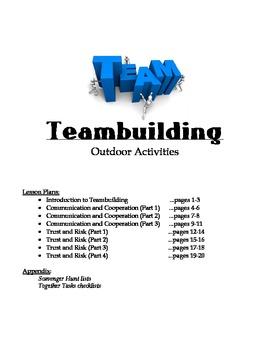 Teambuilding Unit for PE - Outdoor Activities