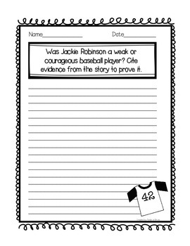 """Teammates"" Journal Activity Pack"