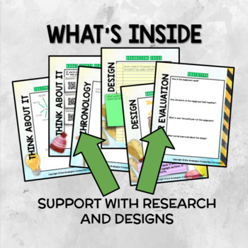 Teams & Athletes: Sports Equipment Design (Explanation & Persuasive Text BUNDLE)