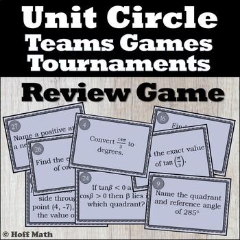 Teams, Games, Tournaments: Unit Circle