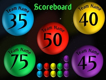 Teams Review Game PPT Template