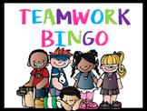 Teamwork Behavior BINGO Classroom Management Tool
