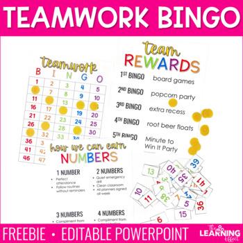 Teamwork Bingo | FREE