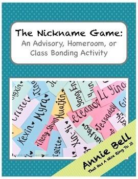 Teamwork & Bonding - Nickname Game