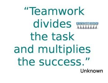 Teamwork Bulletin Board Quotes