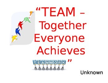 Teamwork Bulletin Board Quotes