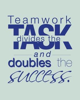 Teamwork Classroom Poster