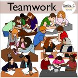 Teamwork Clip Art