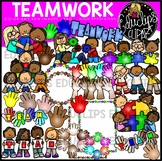 Teamwork Clip Art Bundle {Educlips Clipart}