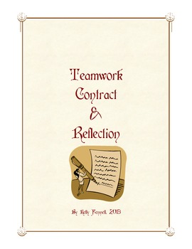 Teamwork Contract and Reflection