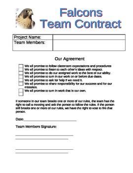 Teamwork Contract