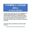Teamwork & Leadership Vocabulary Organizer Interactive Notebook