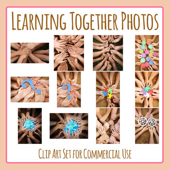 Teamwork Learning - Learning Together Photos Clip Art for Commercial Use