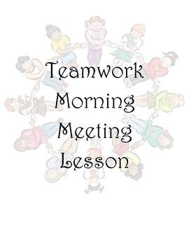 Teamwork Morning Meeting Lesson