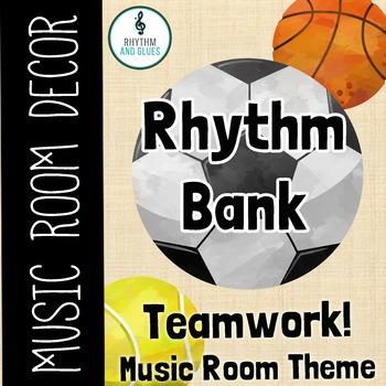 Teamwork Music Room Theme - Rhythm Bank, Rhythm and Glues
