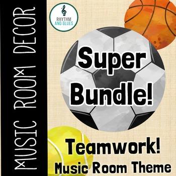 Teamwork Music Room Theme - Super Bundle, Rhythm and Glues