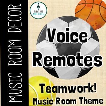 Teamwork Music Room Theme - Voice Remotes, Rhythm and Glues
