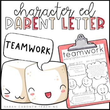 Teamwork Parent Letter