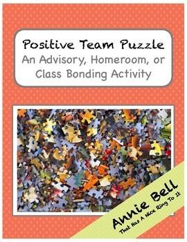 Teamwork - Positive Shout Out Puzzle