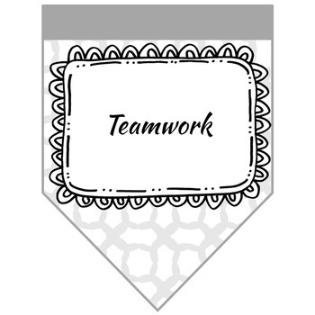 Teamwork Posters and Handout