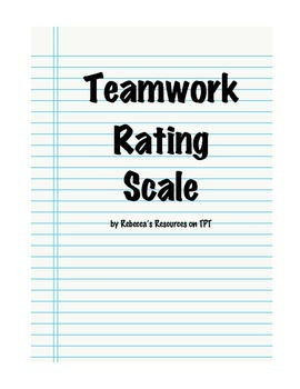 Teamwork Rating Scale