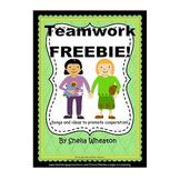 Teamwork Songs and Activities FREEBIE!