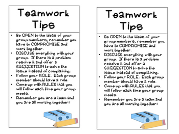 Teamwork Tips for Working in Groups