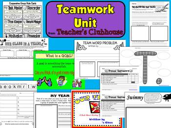 Teamwork Unit from Teacher's Clubhouse