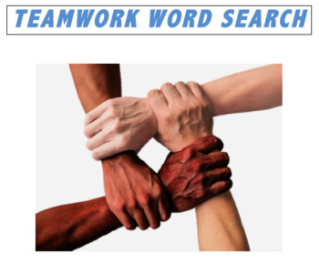 Teamwork WORD SEARCH