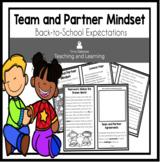 Teamwork and Partner Mindset Reader: Back-to-School Expectations