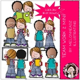 Teamwork clip art 2 - Mini - by Melonheadz