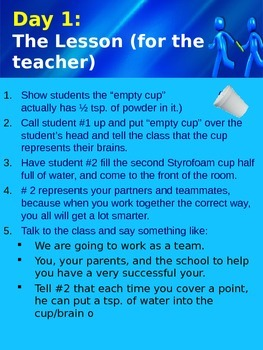 Teamwork & the Four Cs (Plus Two)~ A Water Experiment & Magic STEM Lesson