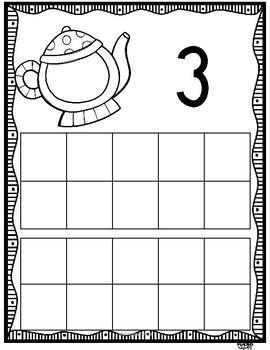 Teapot Ten Frames