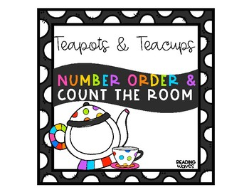 Teapot and Teacup Count the Room and Number Order