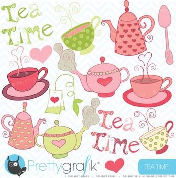 Teapot clipart, commercial use, vector graphics, digital c