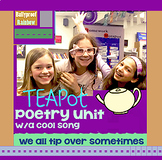 Nursery Rhyme Poetry Unit with magical song